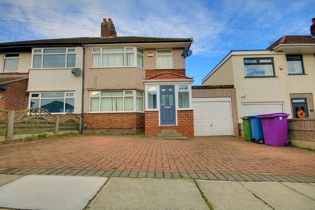Thumbnail Semi-detached house for sale in Barnhurst Road, Childwall, Liverpool
