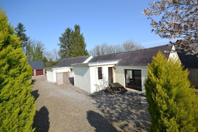 Thumbnail Detached bungalow for sale in New Mill, St. Clears, Carmarthen