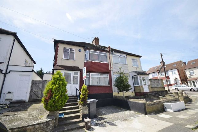 Thumbnail Semi-detached house to rent in Fernwood Crescent, London