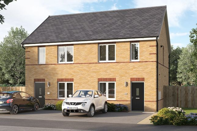 "3 bed semi-detached house for sale in ""The Culbridge"" at Chilton, Ferryhill DL17"