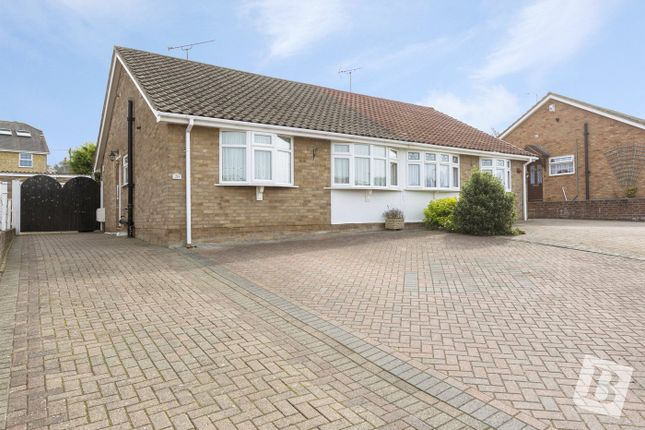 Thumbnail Semi-detached bungalow for sale in Ash Crescent, Higham, Rochester, Kent