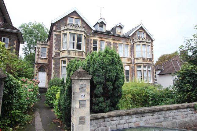 Thumbnail Flat to rent in Elmdale Road, Tyndalls Park, Bristol