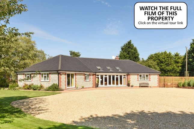 Thumbnail Detached bungalow for sale in The Common, South Creake, Fakenham