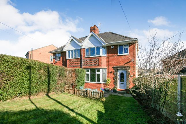 Thumbnail Semi-detached house for sale in Enfield Road Newbold, Chesterfield, Derbyshire