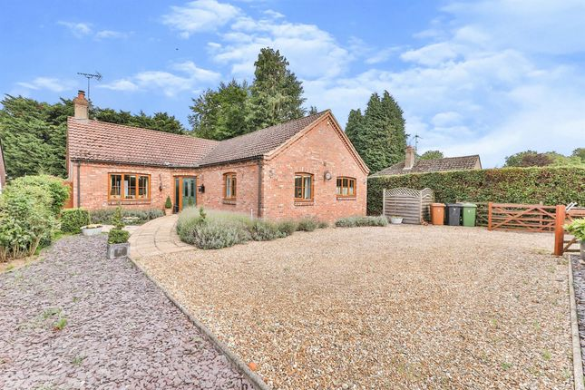 Thumbnail Detached bungalow for sale in Eastfields, Narborough, King's Lynn