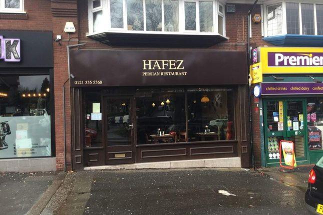 Restaurantcafe For Sale In Beeches Walk Sutton Coldfield
