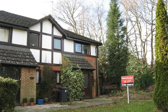 Thumbnail Semi-detached house to rent in Buller Close, Crowborough