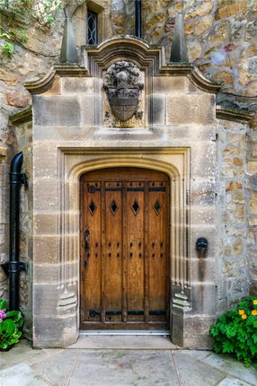 Front Door of Waddington, Clitheroe, Lancashire BB7