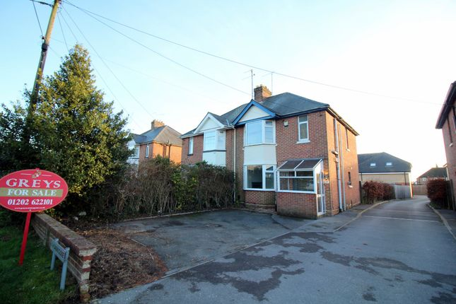 Thumbnail Semi-detached house for sale in Dorchester Road, Upton, Poole