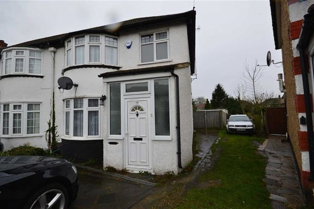 Thumbnail End terrace house to rent in Adderley Road, Harrow Weald, Harrow Weald