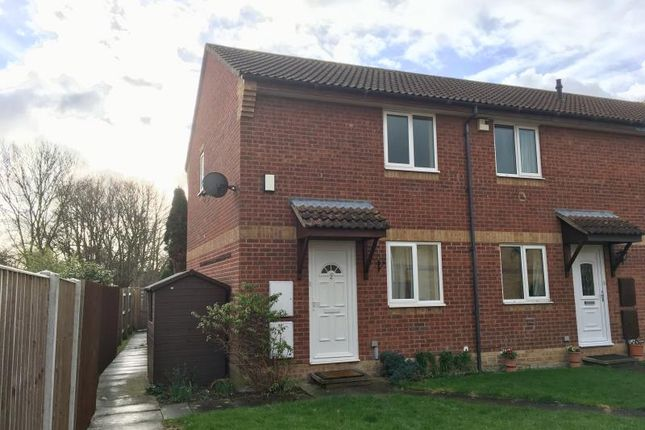 Thumbnail End terrace house to rent in Semington Close, Taunton, Somerset