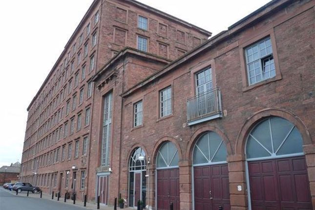 Thumbnail Flat to rent in Shaddon Mill, West Block, Carlisle