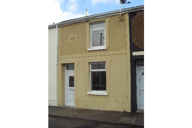 Thumbnail Terraced house to rent in Victoria Terrace, Georgetown, Tredegar