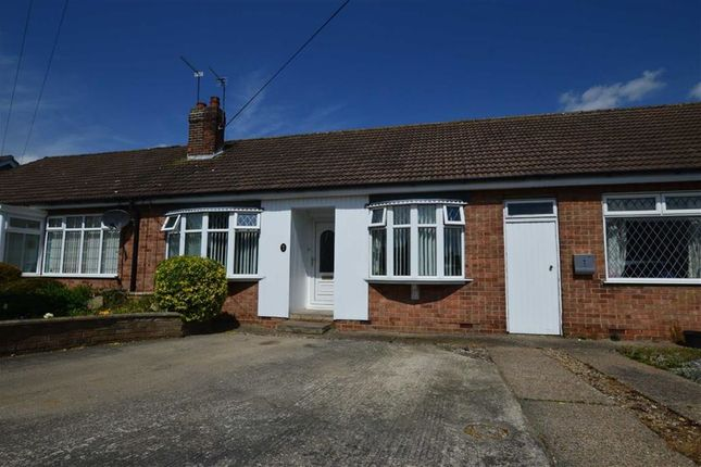 Thumbnail Terraced bungalow for sale in Ward Avenue, Bilton, East Yorkshire