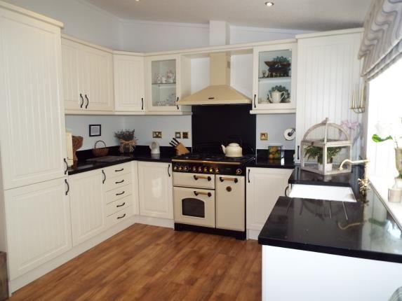 Kitchen/Diner of High Croft Park, Newton Hall Lane, Mobberley, Cheshire WA16