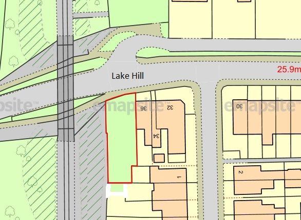 Thumbnail Land for sale in 36 Lake Hill, Lake