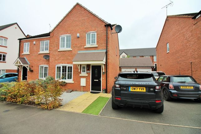Thumbnail Semi-detached house to rent in Penruddock Drive, Coventry