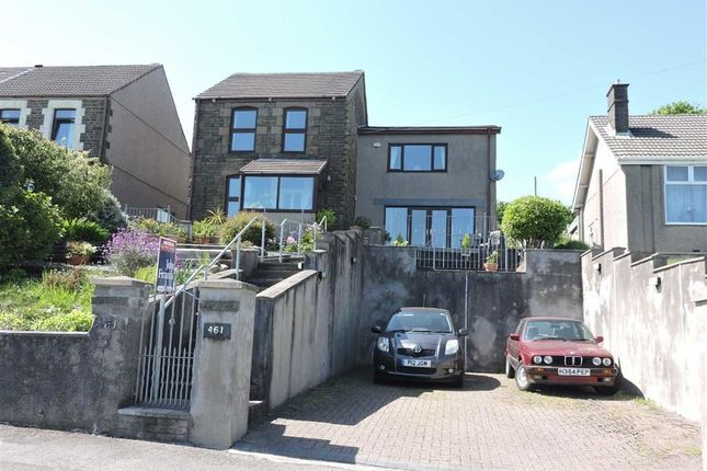 Thumbnail Detached house for sale in Trewyddfa Road, Morriston, Swansea