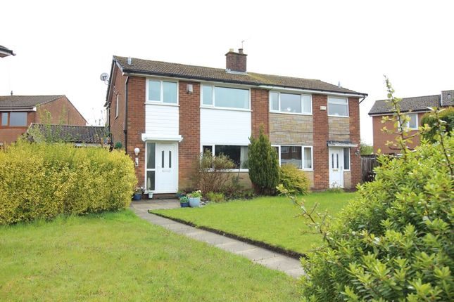 Thumbnail Semi-detached house for sale in Fernview Drive, Ramsbottom, Bury