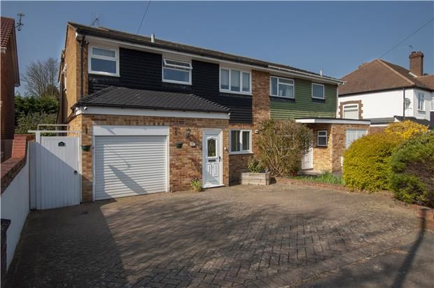 Thumbnail 3 bed semi-detached house for sale in Grange Road, Orpington, Kent