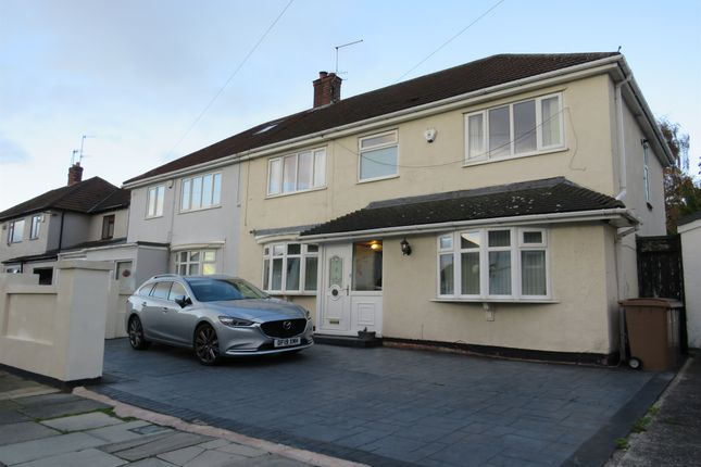 Thumbnail Semi-detached house for sale in Thirlmere Avenue, Prenton