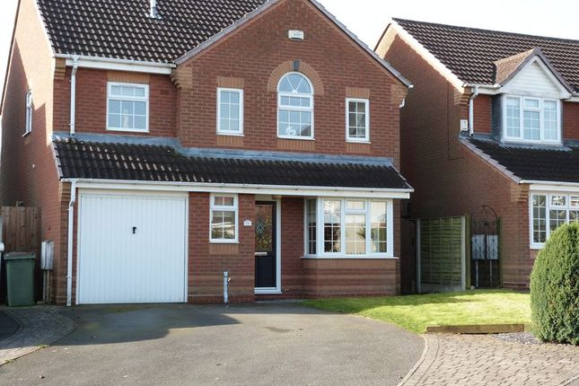 Thumbnail Detached house to rent in De Ruthyn Close, Moira, Swadlincote