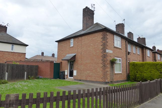 Thumbnail Semi-detached house to rent in Aneford Road, Northfields, Leicester