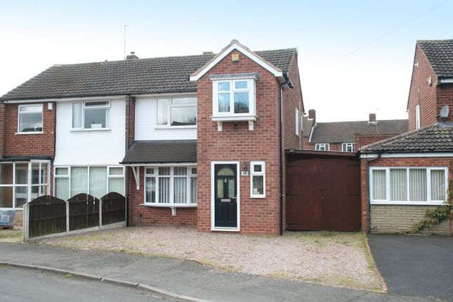 Thumbnail Semi-detached house for sale in Fairview Crescent, Kingswinford