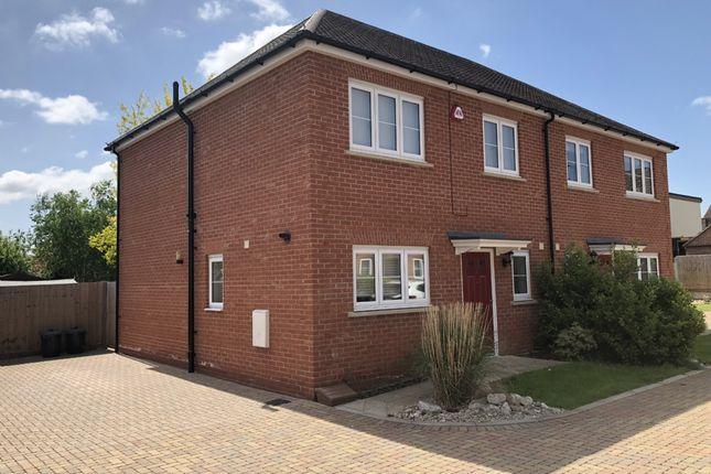 Thumbnail Semi-detached house for sale in Reginald Road, Harold Wood, Romford