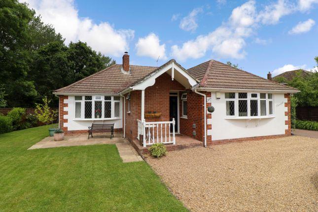 Thumbnail Detached bungalow for sale in Allington Lane, West End, Southampton
