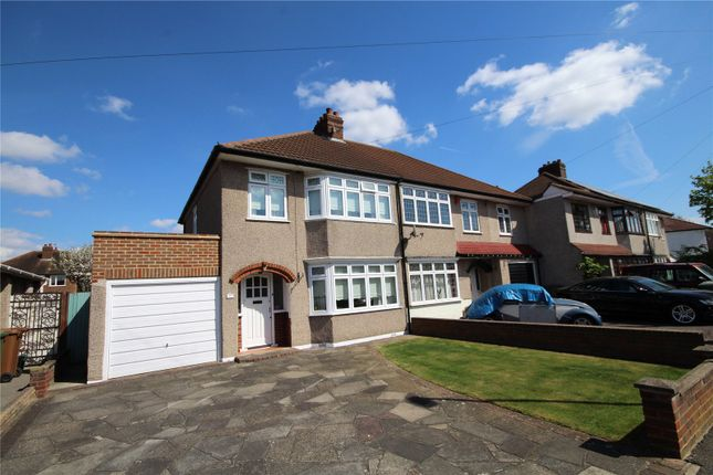 Thumbnail Semi-detached house for sale in Sandringham Drive, Welling, Kent