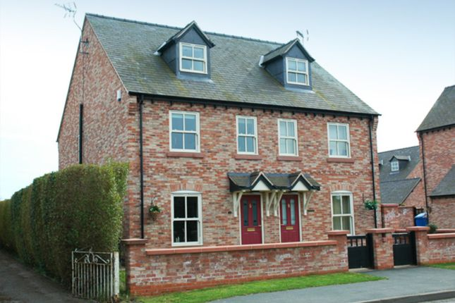 Thumbnail Semi-detached house to rent in Castle Gate, Wrexham Road, Wrexham