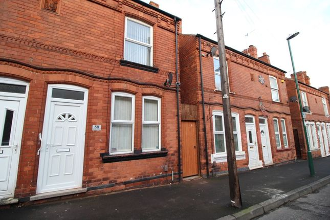 Thumbnail Terraced house to rent in Minerva Street, Bulwell, Nottingham