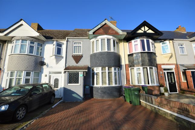 4 bed terraced house for sale in Langdon Road, Cheriton, Folkestone CT19