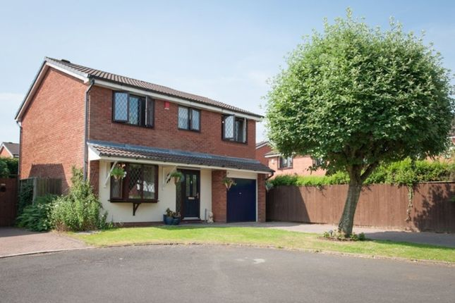 Thumbnail Detached house for sale in Chatsworth Close, Wylde Green, Sutton Coldfield