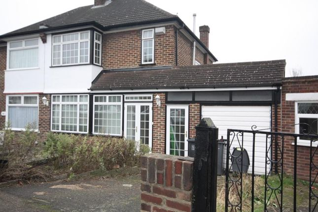 Thumbnail End terrace house to rent in Further Green Road, London