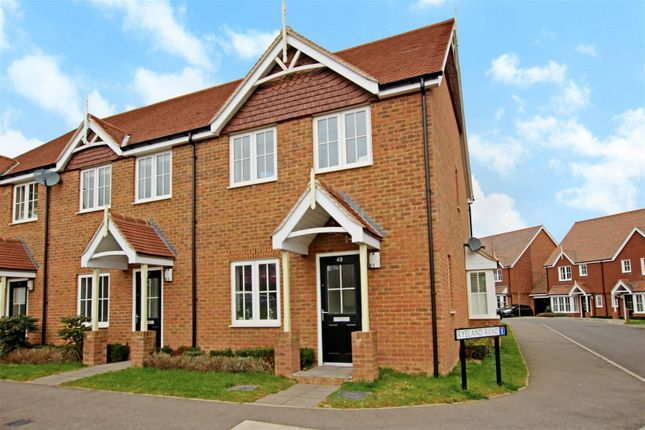 Thumbnail End terrace house to rent in Shearing Drive, Burgess Hill