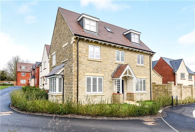 Thumbnail Detached house for sale in Armstrong Road, Stoke Orchard, Glos
