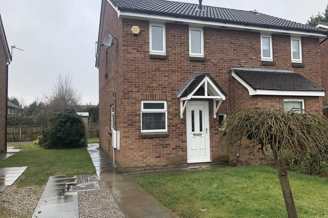Thumbnail Semi-detached house to rent in Brent Moor Road, Bramhall, Stockport