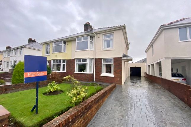 Thumbnail Semi-detached house for sale in 94 Coity Road, Bridgend