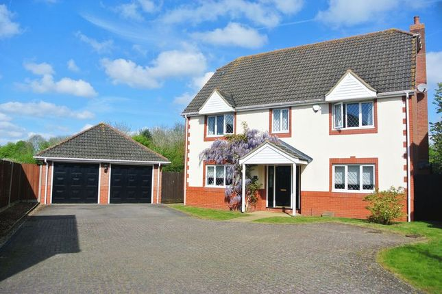 Thumbnail Detached house for sale in Taylor Drive, Bramley, Tadley