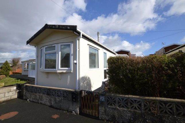 Thumbnail Mobile/park home for sale in The Ramparts, Stamford Lane, Plymstock, Plymouth