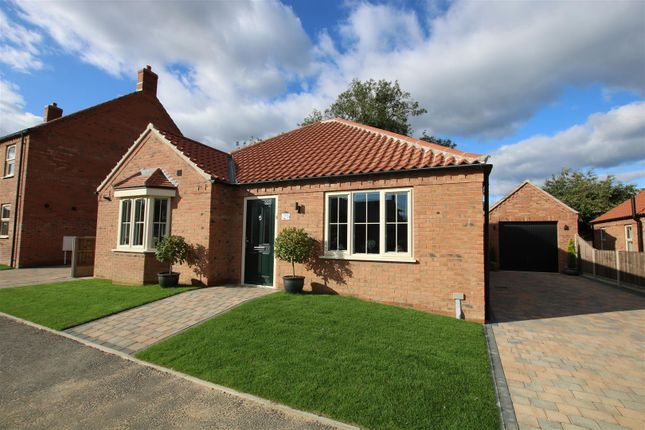 Thumbnail Detached bungalow for sale in Spire View, Boston Road, Heckington