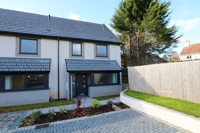Thumbnail End terrace house for sale in Greenvale Drive, Timsbury, Bath