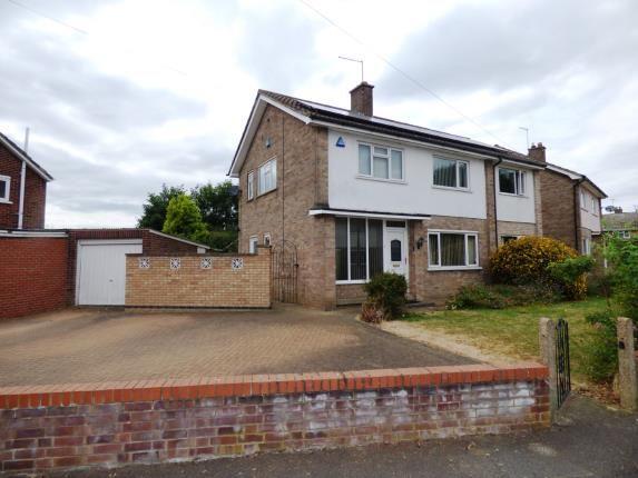Thumbnail Detached house for sale in Tiverton Road, Netherton, Peterborough, Cambridgeshire