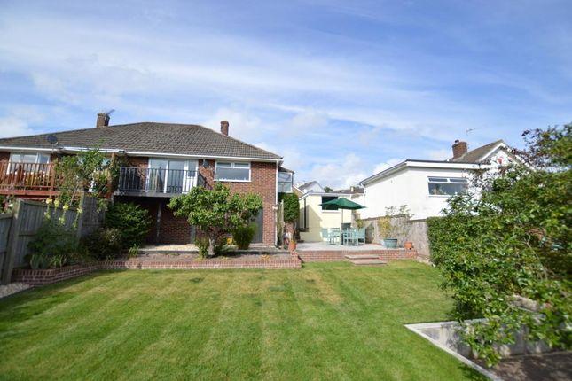 2 bed semi-detached bungalow for sale in Applegarth Avenue, Newton Abbot, Devon