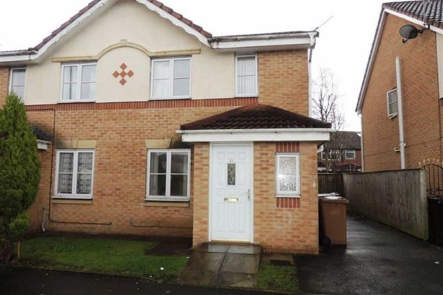 Thumbnail Semi-detached house for sale in Garforth Crescent, Droylsden, Manchester