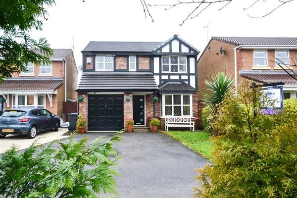 Thumbnail Detached house for sale in Gifford Place, Hindley, Wigan