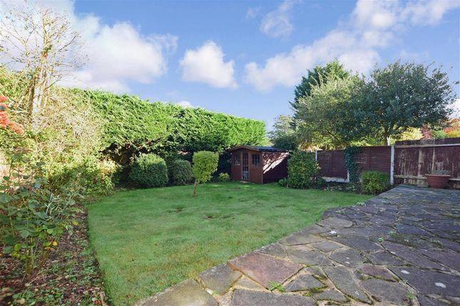Rear Garden of Coolgardie Avenue, Chigwell, Essex IG7