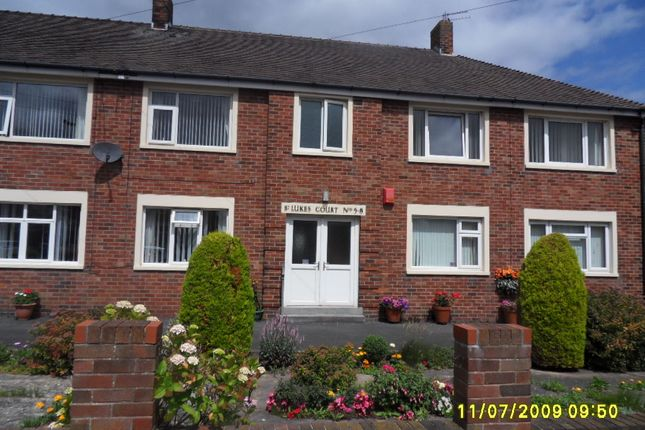 Thumbnail Flat to rent in St. Lukes Court, St Lukes Road, Blackpool